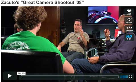 Zacuto's Great Camera Shootout '08 1