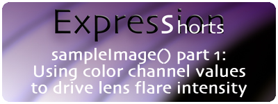 Expression Shorts - sampleImage() part 1 1