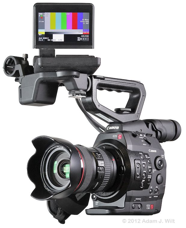 Quick Review: Canon C300 Super35mm LSS Cine Camera 155