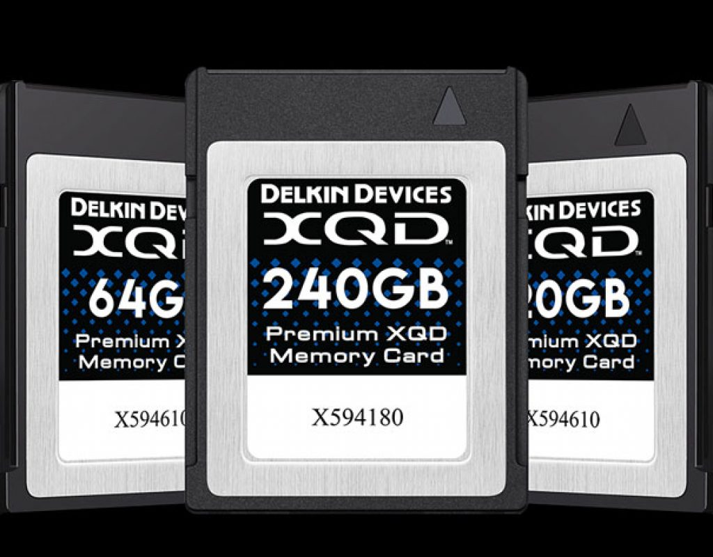 Delkin launches Premium 2933X XQD memory cards
