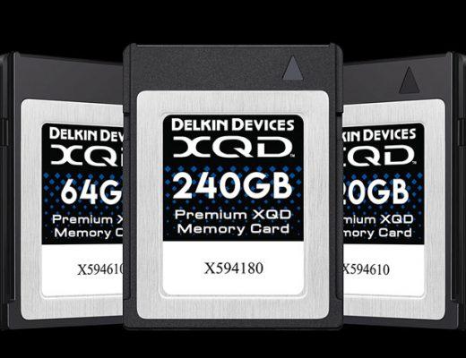 Delkin launches Premium 2933X XQD memory cards