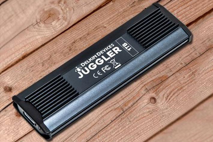 Delkin Juggler Portable Cinema SSD: storage for professional video cameras 1