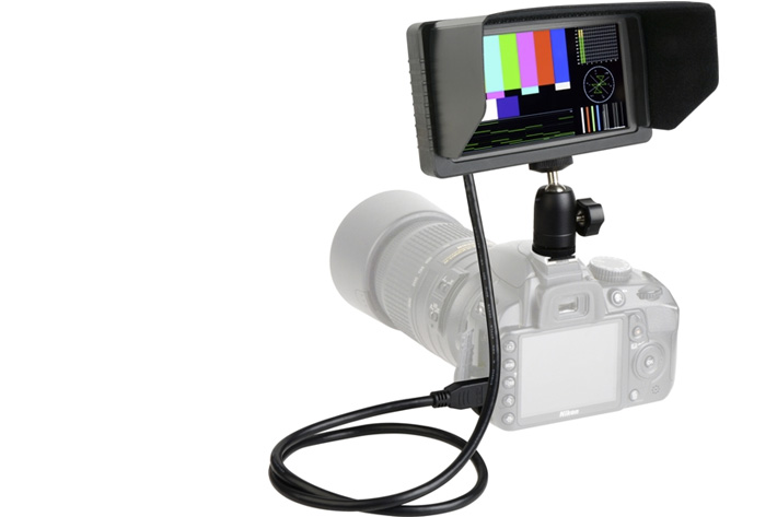 Delvcam 5.5 inch monitor for DSLRs