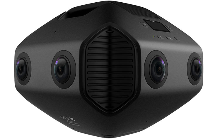 Detu MAX: world's first 3D 8K 360 VR camera with AI