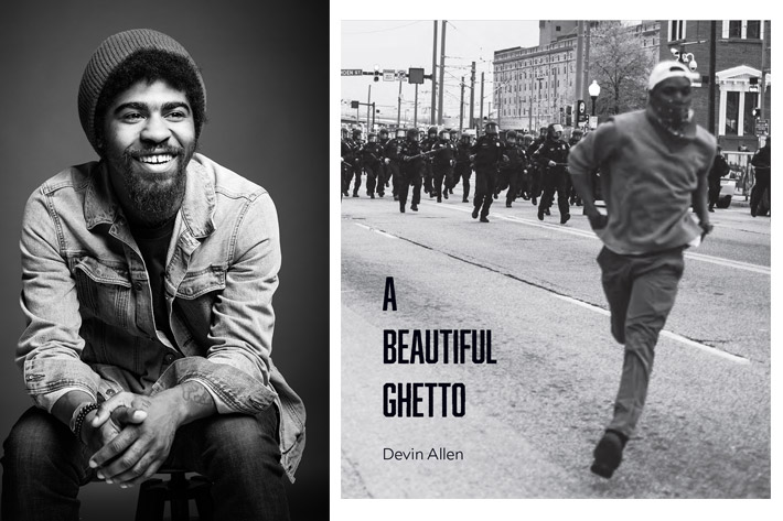 Devin Allen's new book: A Beautiful Ghetto