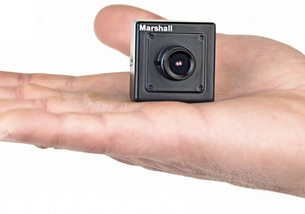 "Marshall Develops Low Cost ""Palm Size"" Broadcast HDSDI Camera 1"