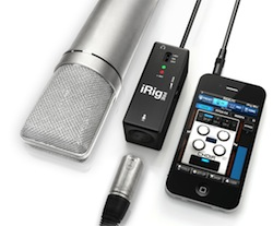 Review: iRig Pre XLR mic preamp for iPad/iPhone/iPod Touch 3