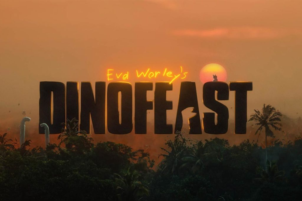 Dino Feast: a short-animated film by 9-year-old Eva Worley