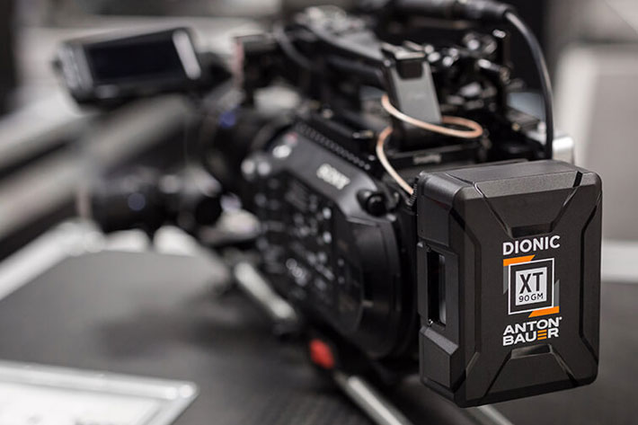 Anton/Bauer shows new Dionic XT battery at Cine Gear Expo