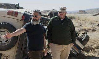 Left to right: Director Glenn Ficarra and Director John Requa on the set of Whiskey Tango Foxtrot from Paramount Pictures and Broadway Video/Little Stranger Productions in theatres March 4, 2016.