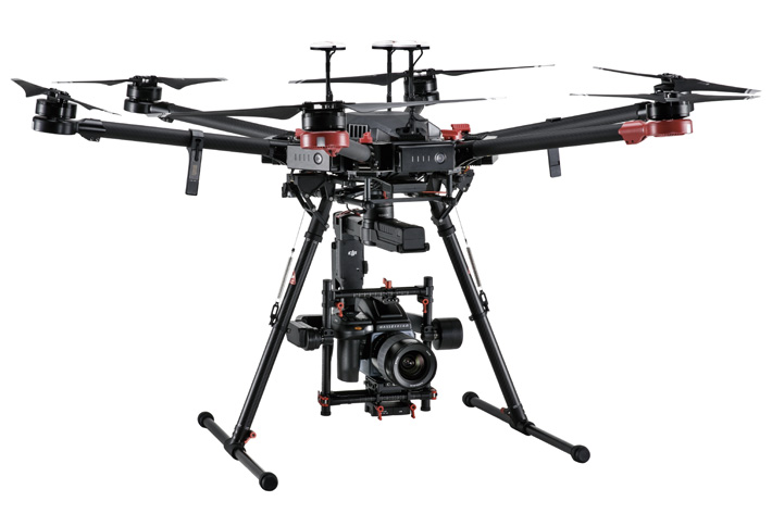 "DJI shows ""100 megapixel drone"" at NAB"