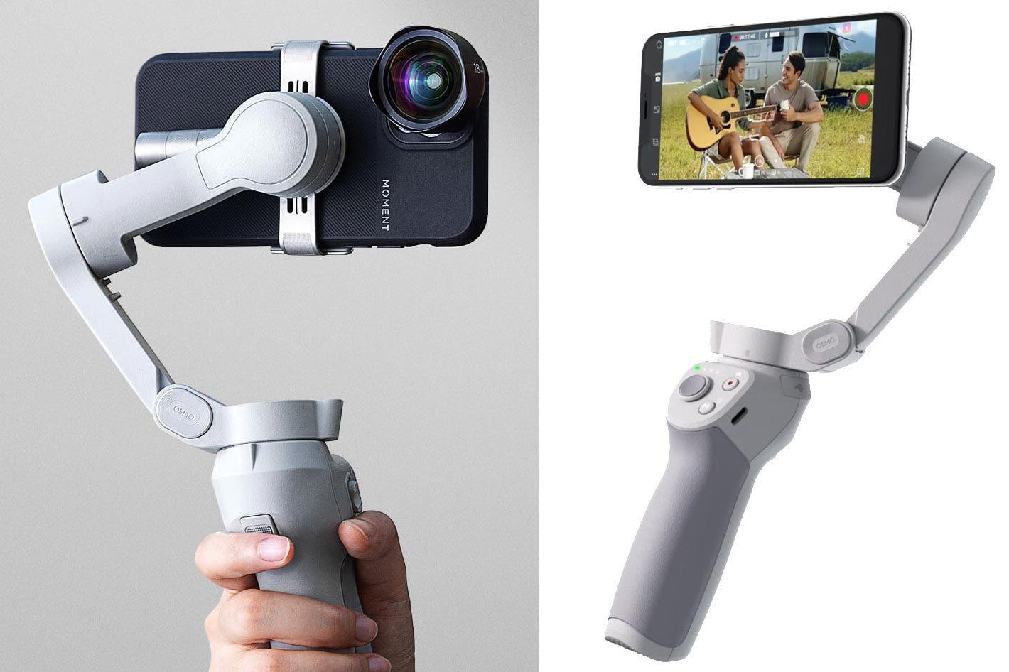 DJI OM 4: a new and foldable smartphone stabilizer