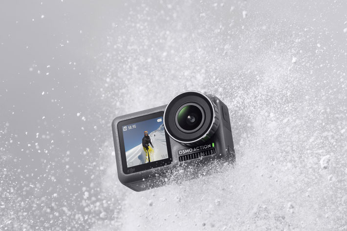 The new DJI is not a drone: meet DJI Osmo Action, a 4K action camera 3