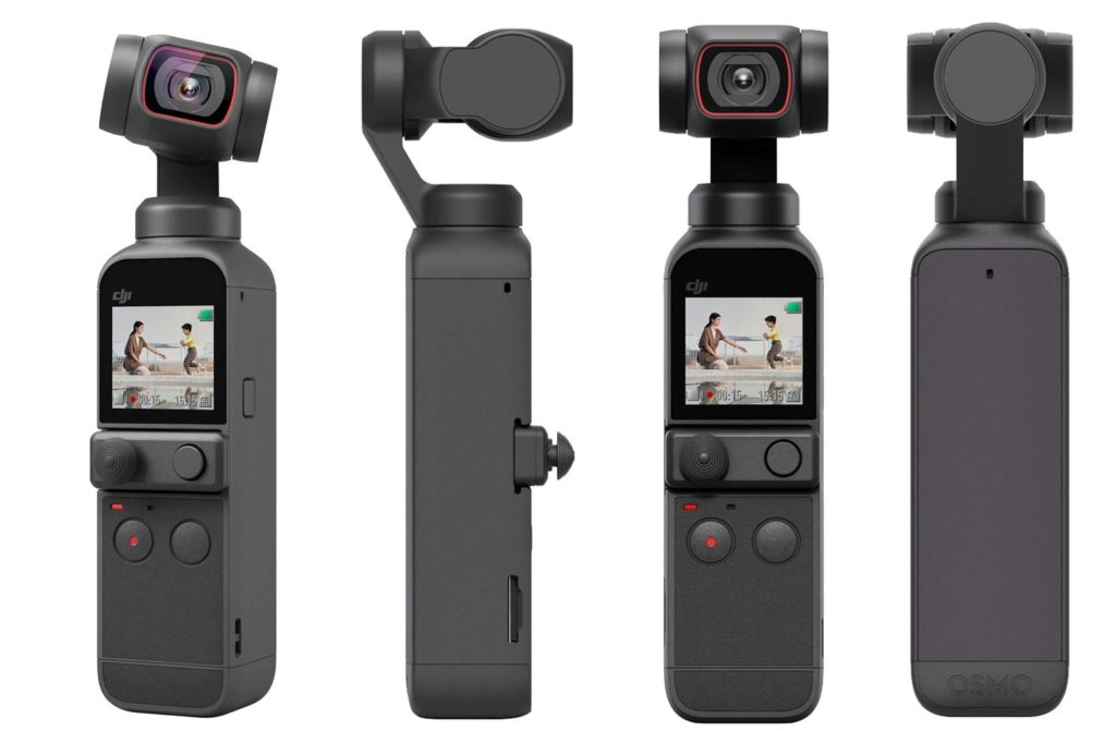 DJI Pocket 2: a portable stabilized mini camera