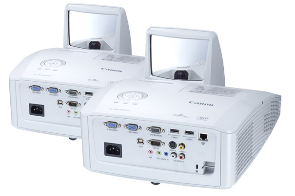 Canon: New Ultra Short Throw Interactive DLP Projector 1