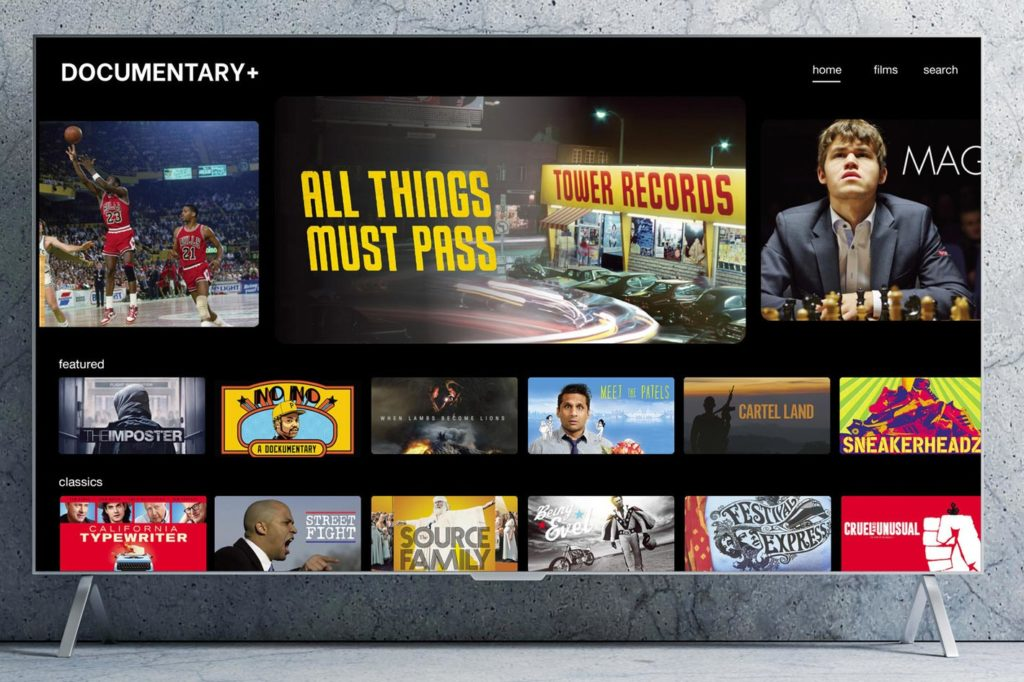 Documentary+: a new and free nonfiction streaming platform