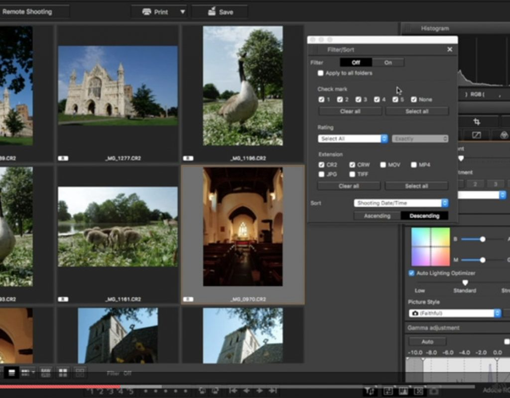 DPP: the free RAW photo editor for Canon users