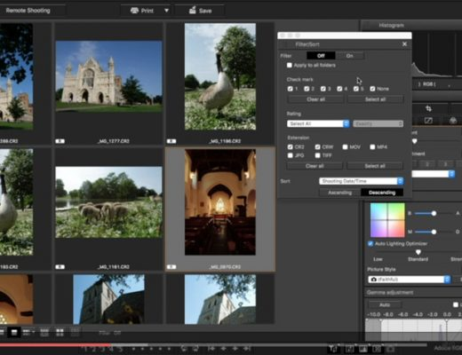 DPP: a free RAW photo editor for Canon users