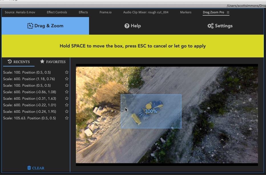 Drag Zoom Pro