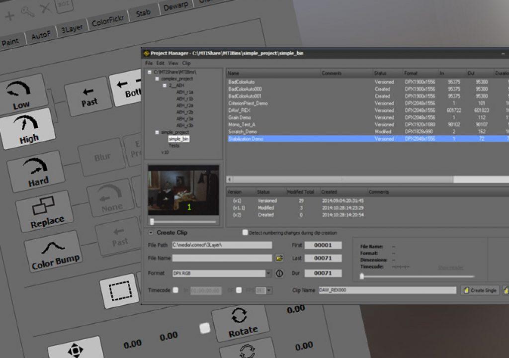 DRS Nova 2.3 has new features for digital film restoration