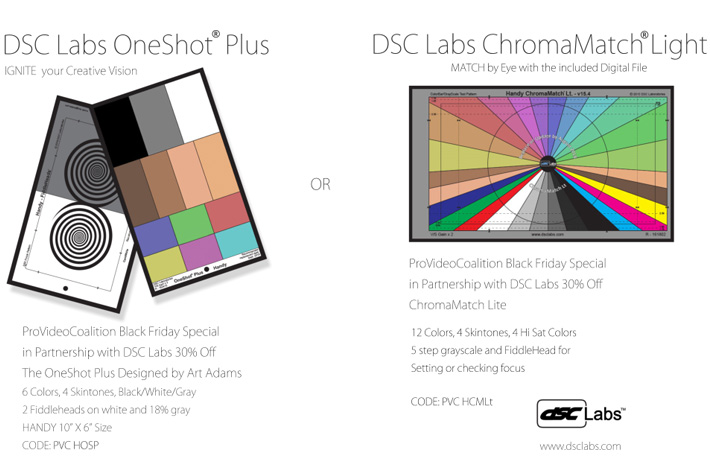 DSC Labs charts: 30% off for Black Friday