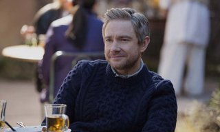 Martin Freeman plays Iain MacKelpie in Whiskey Tango Foxtrot from Paramount Pictures and Broadway Video/Little Stranger Productions in theatres March 4, 2016.