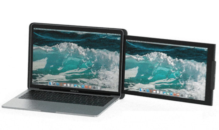 DUO: a portable second screen for your laptop