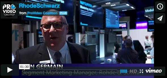 NAB 2015: Rohde & Schwarz Clipster 2