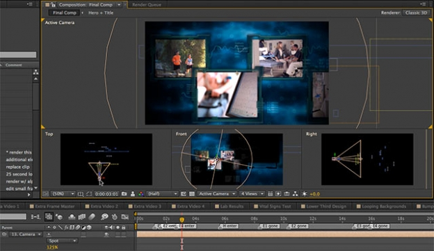 After Effects Apprentice Free Video: Adding 3D Lighting to a Scene 3