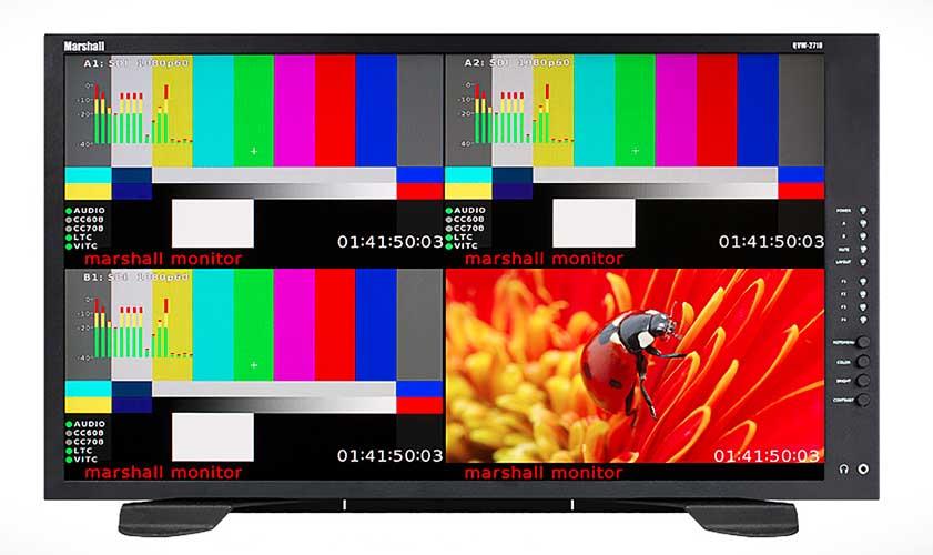 Marshall Electronics QVW-2710 Quad-Viewer Monitor 2