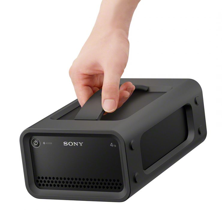 Review of the new ruggedized Sony RAID Sony's latest professional RAID might just be the new favorite drive for on-set transfers