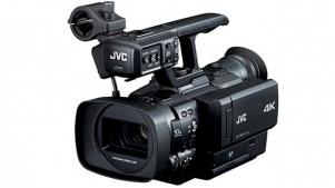 JVC ships GY-HMQ10 handheld 4K Camcorder 1