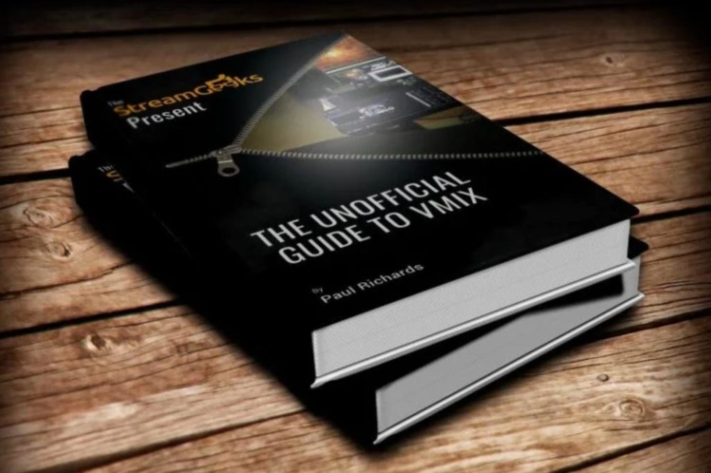A free live streaming and video production guidebook for vMix