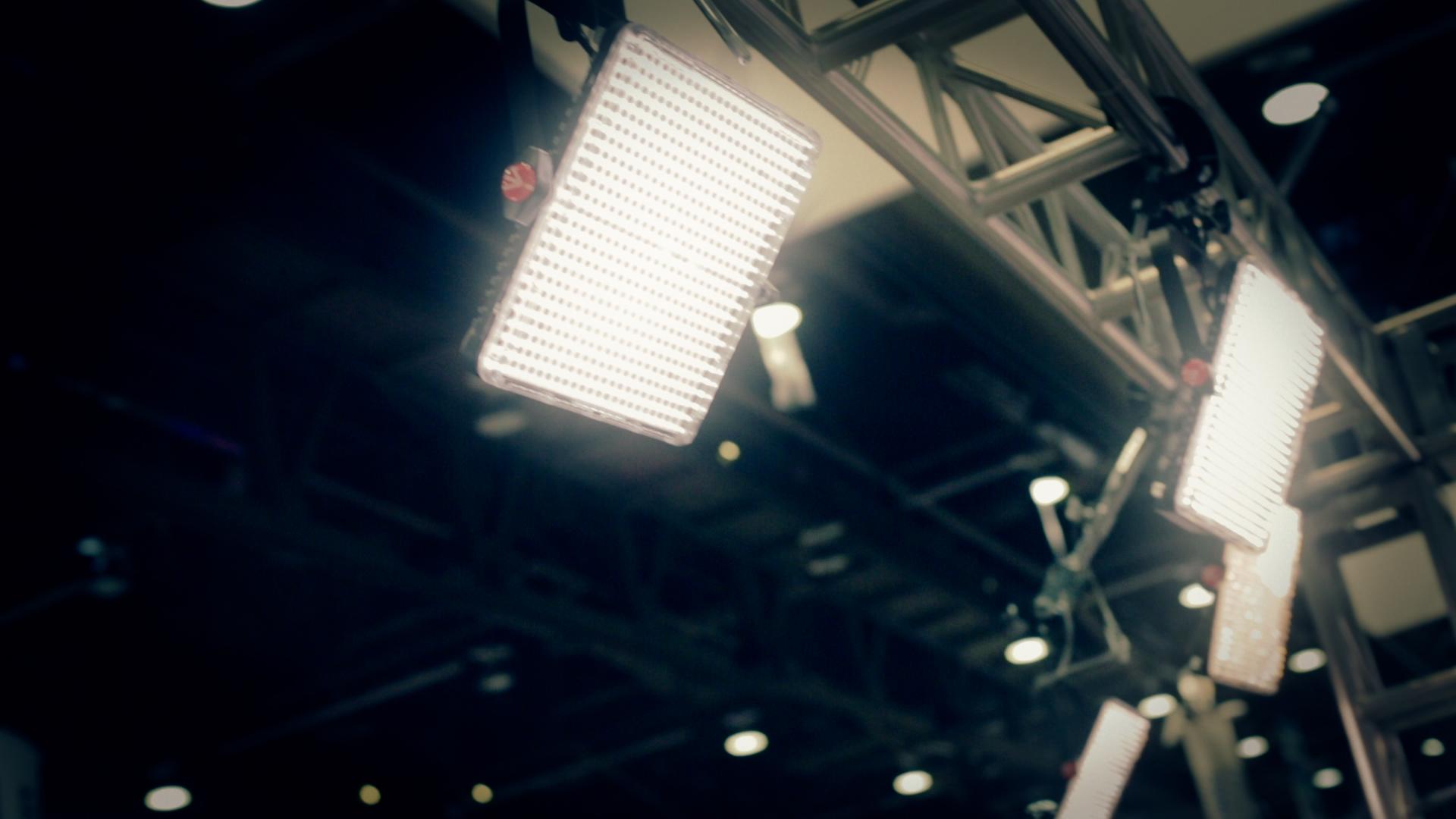 HDSLRShooter at NAB 2013: Manfrotto LED Lighting 4
