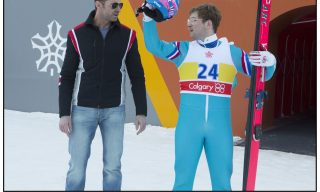 DF-01327_Rv2 - Taron Egerton, right, and Hugh Jackman star in EDDIE THE EAGLE.