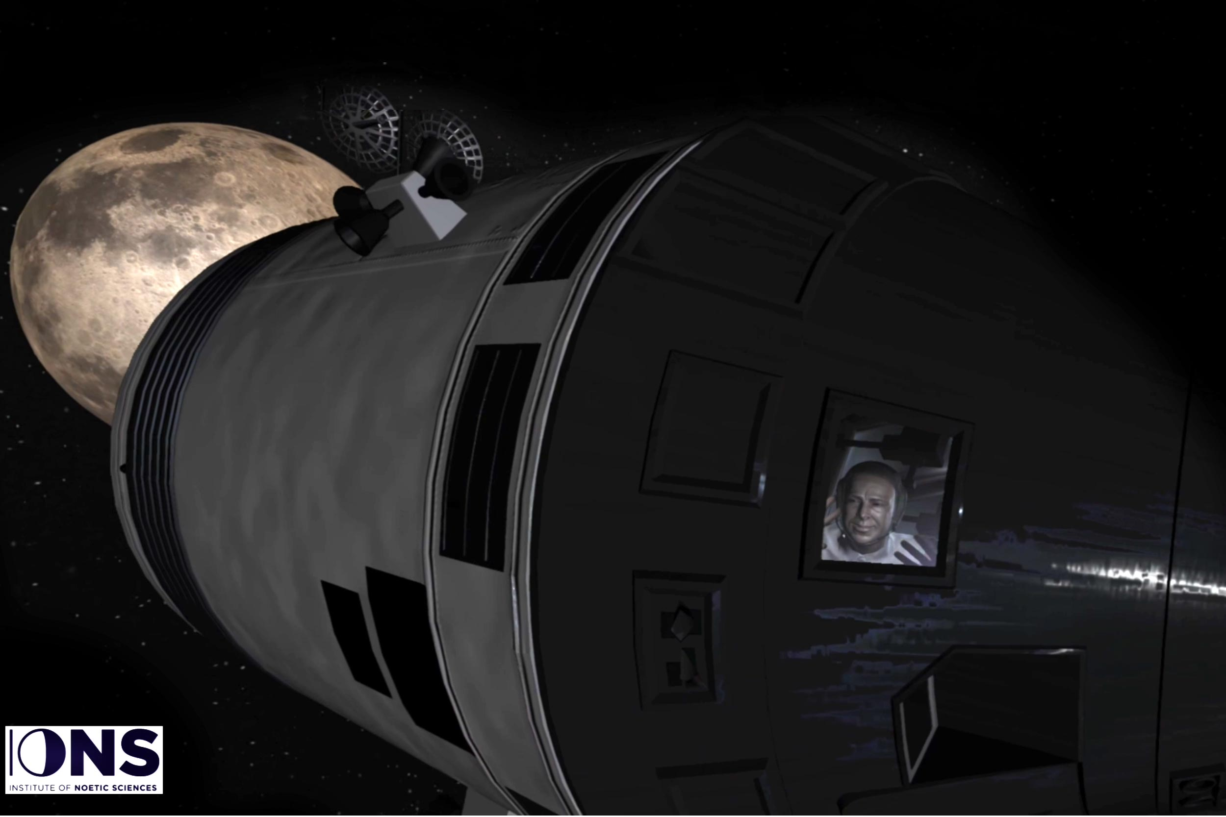 The Edgar Mitchell Overview Effect VR Experience