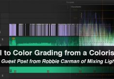 Editorial to Color Grading from a Colorist's POV: A Guest Post From Robbie Carman