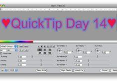 Quicktip Valentine's Day 14: Insert a ? or a ?