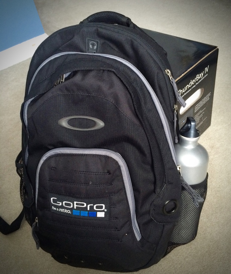 This GoPro bag serves as my day to day backpack and short term go-bag. It's very well made with lots of pockets and compartments including a padded laptop area.