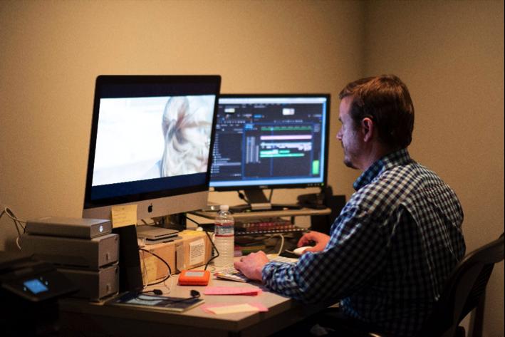 Filmmaker Friday with producer Stu Pollard for RUST CREEK 7