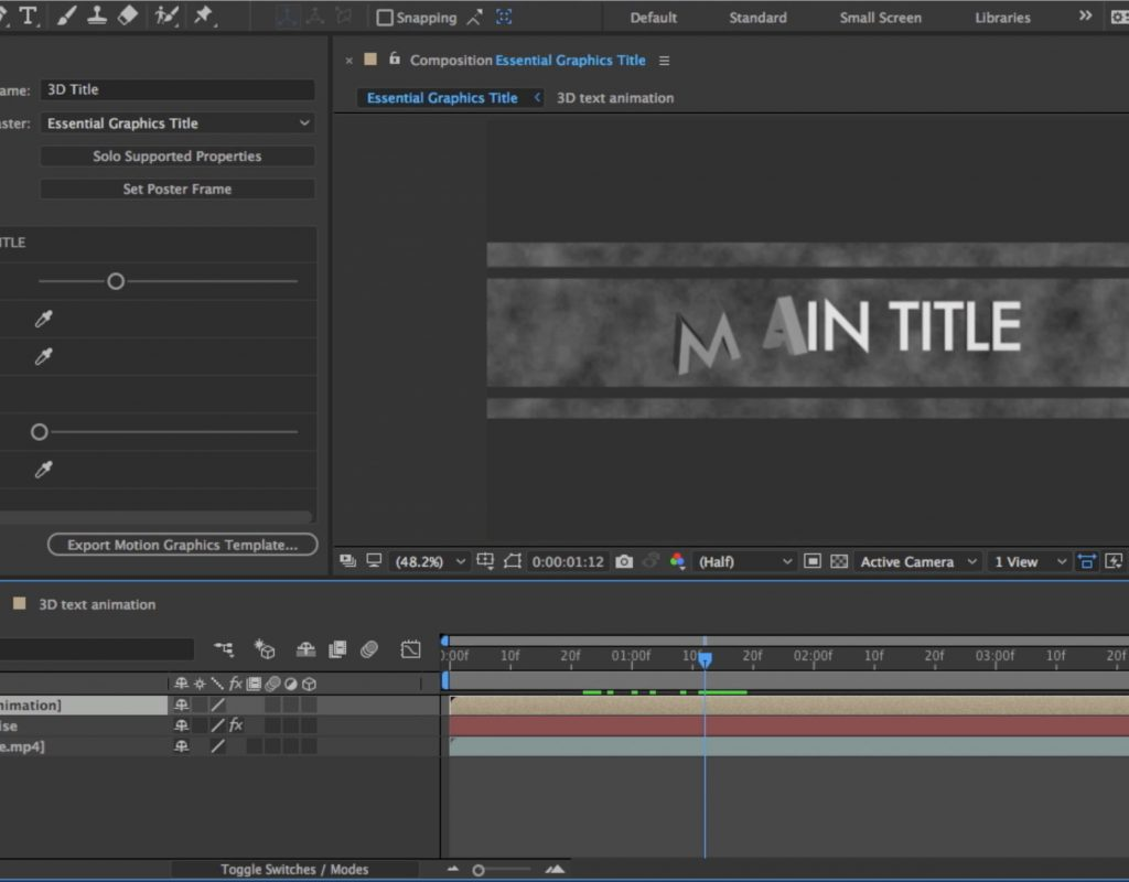 These are the latest features in After Effects CC 2017, available now 1