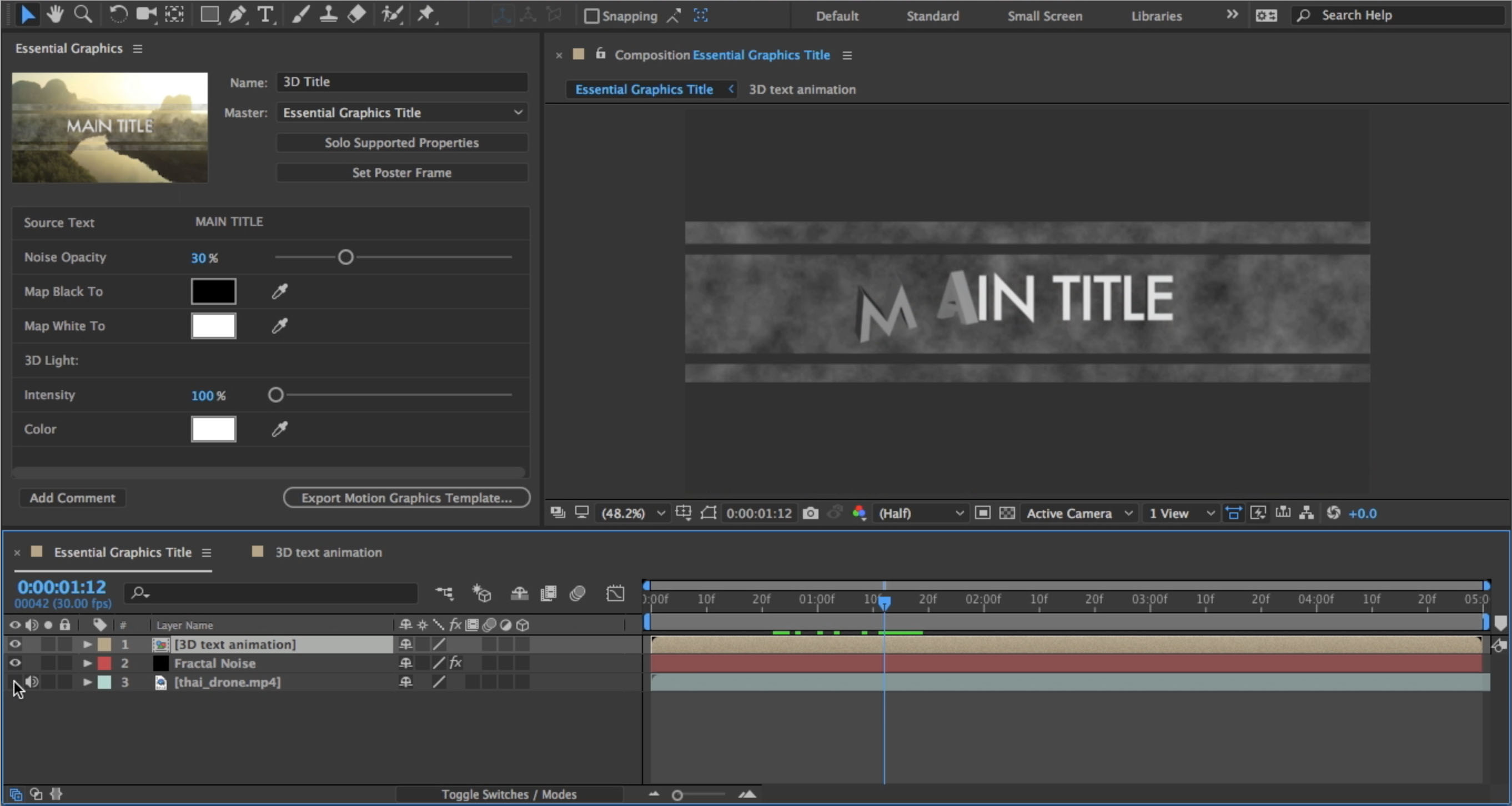 These are the latest features in After Effects CC 2017, available