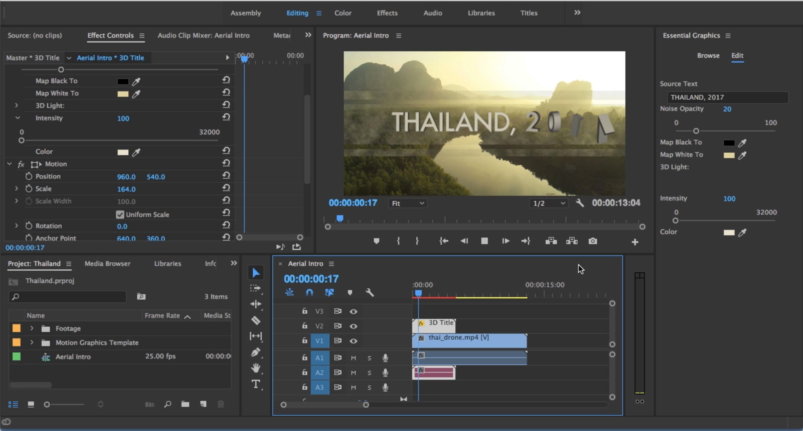 Color Effects Premiere Pro