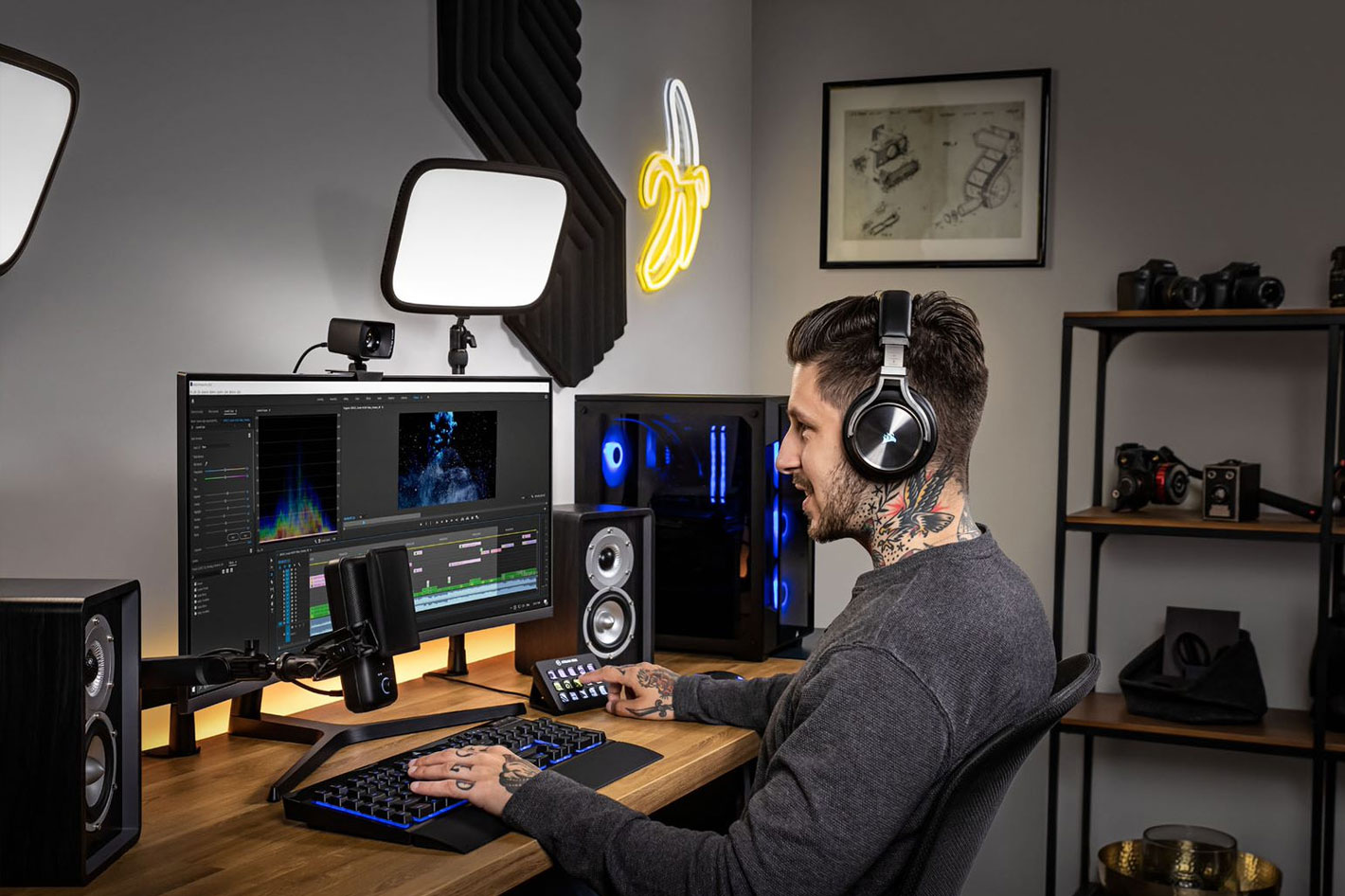 Elgato launches Facecam, and other new products for content creators