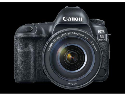 Canon EOS 5D Mark IV DSLR gets Canon Log
