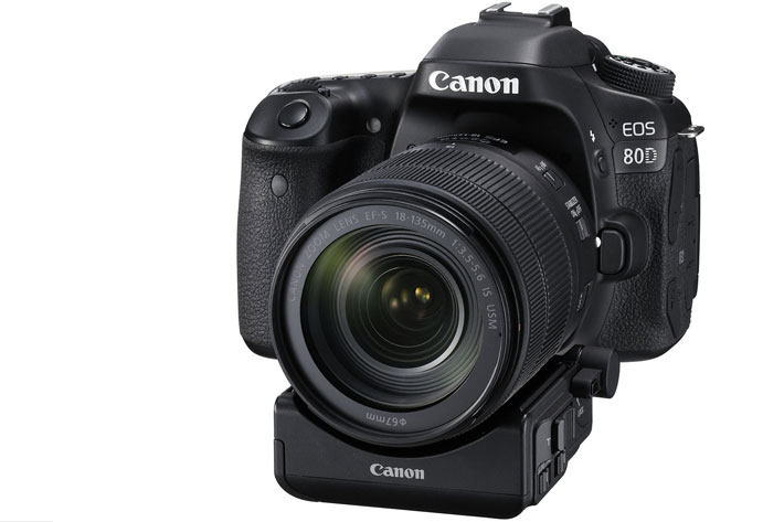 Canon EOS 80D at NAB 2016