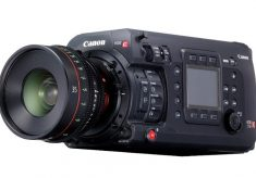 Canon EOS C700 with Global Shutter