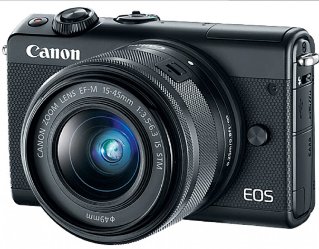Canon M100: step up from a smartphone