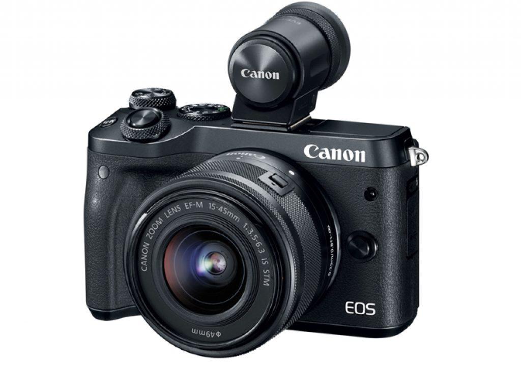 Canon EOS M6: a mirrorless EOS 77D