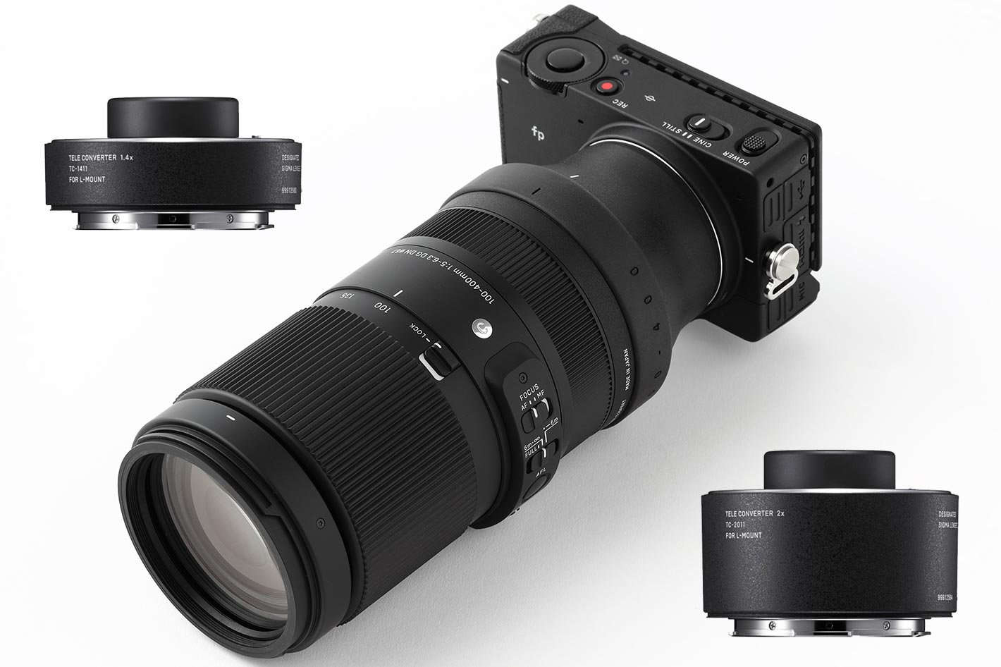 Canon: new L-series zoom and two telephotos for the masses